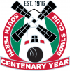 south perth bowling club centenary logo